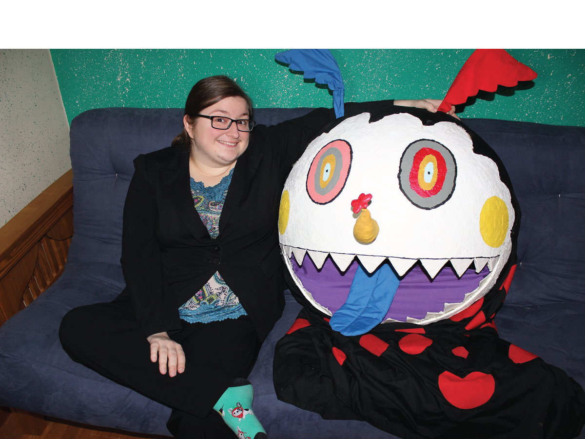 Cool Girl Megan Valentine-Shafer with Dessert Witch Charlotte