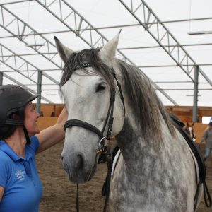 Amber Varner uses equine therapy to help humans and horses